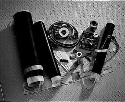 3M 15kV 1/C PILC Splicing Kit QS2011T, Tape, Wire, Unishield, 5 - 35 kV, Poly/EPR; Paper Insulated Lead Covered (PILC), 1 per case