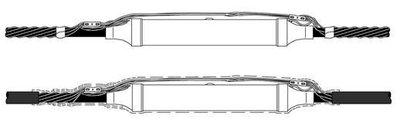 3M 5451R-CIR-1/0-840 25/28 kV Molded Rubber Inline Splice Kit