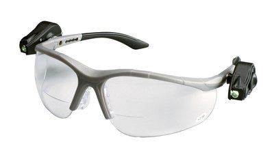 3M Light Vision 2 Protective Eyewear 11478-00000-10, Clear Anti-Fog Lens,, Gray Frame, +2.0 Diopt, 10 EA/Case