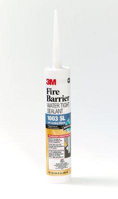3M Industrial Safety 98040055547 1003SL 20 Fl Oz Fire Barrier Watertight Sealant