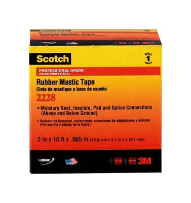 3M 2228-2x10FT Rubber Mastic Tape