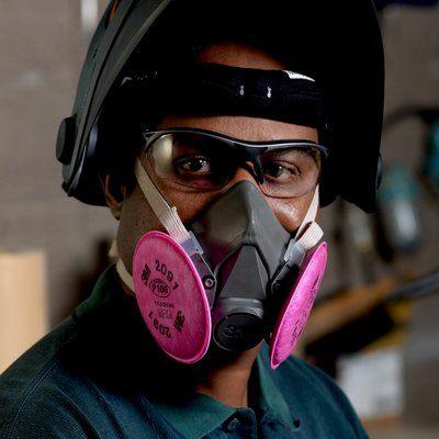half mask reusable respirator