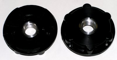 3M Disc pad Hub 28476, 2-1/2 in 5/8-11 Internal Low Profile, 10 per case