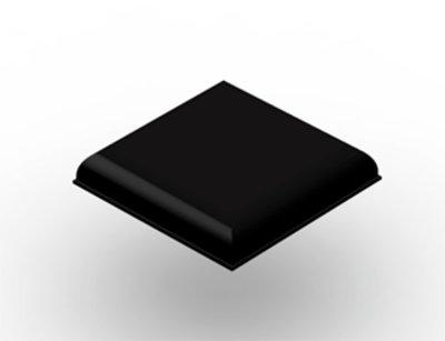 3M Bumpon Protective Products SJ5705SBCC Black, 1000 per case