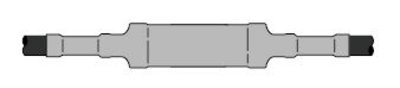 3M Cold Shrink QS-III Splice Kit 5515A-500-CU, Tape, Wire, Unishield, 15 kV, Standard, 1 per case