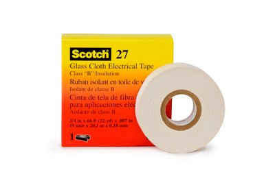 "3M 27-3/4""x60yd Glass Cloth Tape"