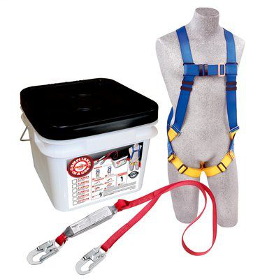 PRT 3M PROTECTA Compliance in a Can Light Roofer's Fall Protection Kit 2199806, 48 EA