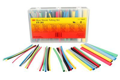 MMM FP301-3/32-TO-1/2-ASSRTED-5 HEAT SHRINK TUBING KIT