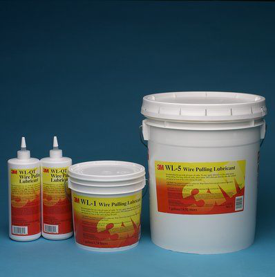 3M Electrical WL-5 42 lb 5 Gallon Pail Wire Pulling Lubricant Gel