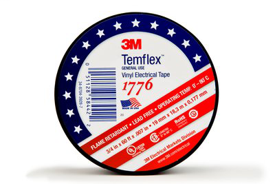 "MMM 1776-3/4INX60FT VINYL TAPE 3/4"" X 60'"