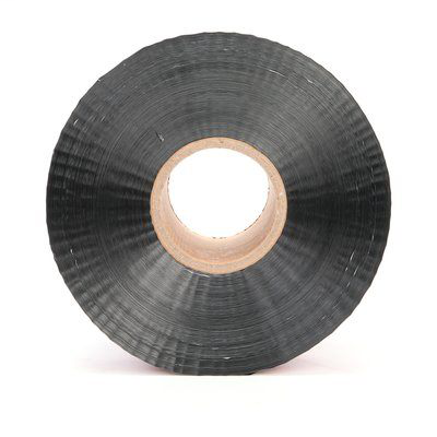Scotch Detectable Buried Barricade Tape 408, CAUTION BURIED ELECTRIC LINE BELOW, 6 in x 1000 ft, Red, 4 rolls/case, BULK