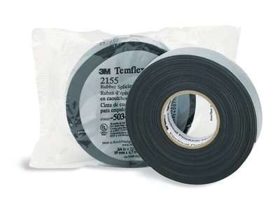 "MMM 2155-1-1/2X22FT 1-1/2"" X 22 FT RUBBER SPLCNG TAPE W/ LINER"