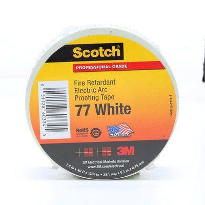 3M 77W-1.5X20FT 77 WHITE 1-1/2 X 20