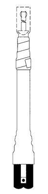 3M 5622K Cold Shrink 3 Terms/Kit Non-Skirted Termination Kit