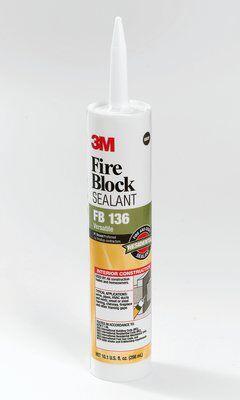 3M FB-13 12/Case 10.1 oz Fire Block Sealant Cartridge