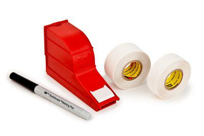 3M SLW 1 x 5 Inch Label Wire Marker Write-On Dispenser with Pen