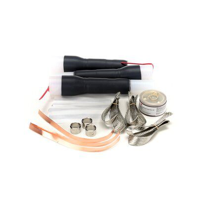 3M 7622-T-95 Cold Shrink 3 Terms/Kit Non-Skirted Termination Kit
