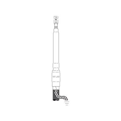 3M 7621-T-95 Cold Shrink 3 Terms/Kit Non-Skirted Termination Kit