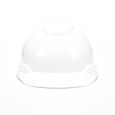 3M Industrial Safety H-701R 4-Point Ratchet Suspension White Hard Hat