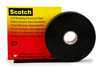 "3M 23-3/4""x30FT Rubber Splicing Tape"