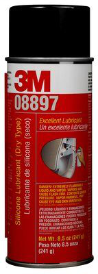 3M 08897 Silicone Lubricant Dry Typ