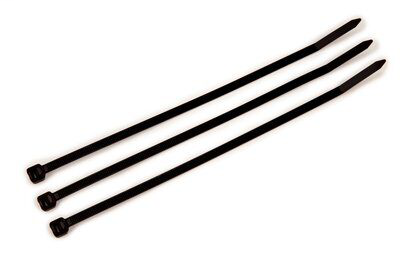 3M CT8BK50-C 100/Bag 8 Inch Black 50 lb Cable Tie