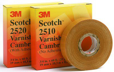 3M 2520-3/4x60ft Varnished Cambric Tape