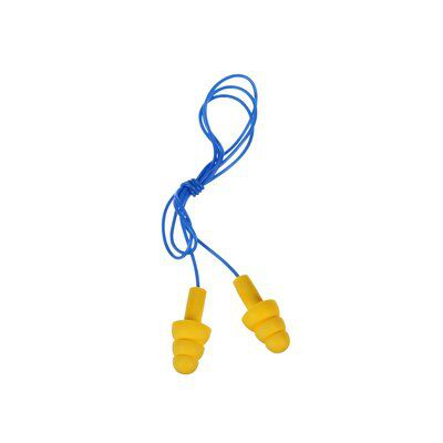 3M Industrial Safety 340-4004 400 Pair/Case 25 dB Corded Reusable Earplug