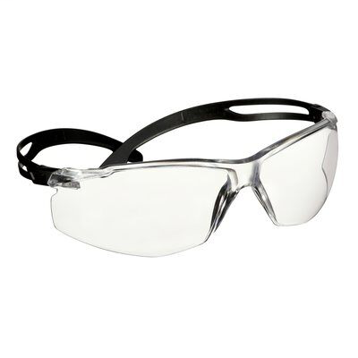 3M SF501AF-BLKSECURE FIT ANTIFOG ANTI SCRATCHSAFETY GLASSES CLEAR LENS 20PR/CS