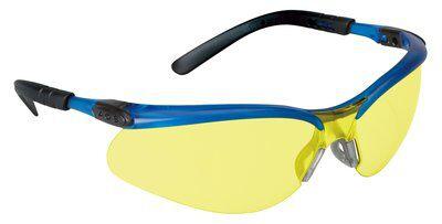 3M Industrial Safety 11524-00000-20 Blue Frame Light Amber Anti-Fog Lens Protective Eyewear