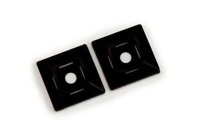 3M CTB1X1BKA-C 1 x 1 Inch 100/Bag Black Mounting Base