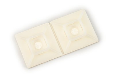 3M CTB1X1NTA-C 1 x 1 Inch 100/Bag Natural Mounting Base