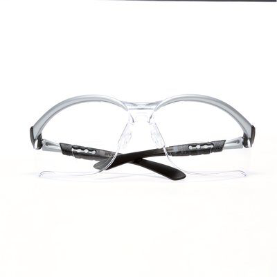 3M Industrial Safety 11376-00000-20 Silver Frame 2.5 Diopter Clear Lens Protective Eyewear