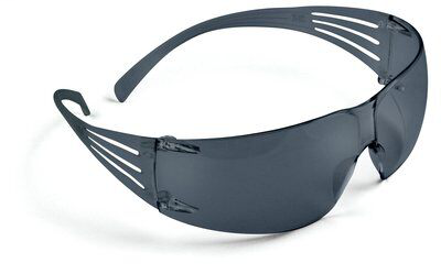 3M SF202AF Securefit Gray Anti-Fog Lens 20/Case Protective Eyewear