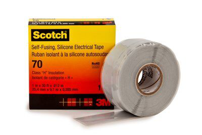 3M 70-1x30FT Silicone Rubber Tape