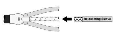Mayer-3M Rejacketing Sleeve RJS-3, 4 ft coil, 10 /Case-1
