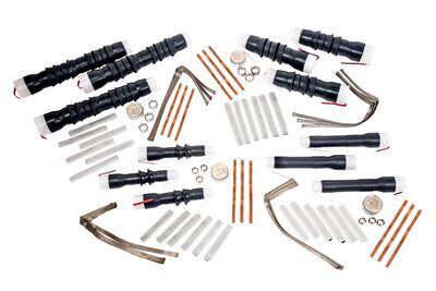 3M Cold Shrink QS-III Splice Kit 5787A-MT, Longitudinally Corrugated, 25/28 kV, 250-750 kcmil (120-325 mm2), 1/case