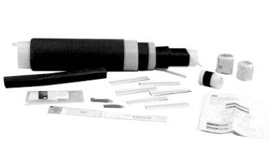 3M Cold Shrink QS-III Splice Kit 5515A, Longitudinally Corrugated Shield, 15 kV, Standard, 1/case