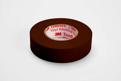 MMM 1700C-BROWN 3/4X66FT VINYL COLOR CODING TAPE