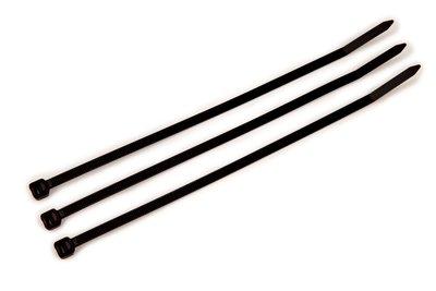 """MMM CT8BK50-C 8"""" BLACK 50 LB CABLE TIE - 100 PCS/BAG (06202)"""