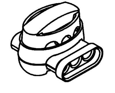 3M 314U-BIN 1000/Box Insulation Displacement Connector