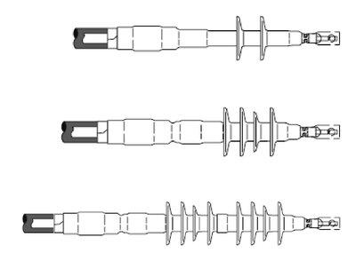 3M 7685-S-8 Cold Shrink 3 Terms/Kit 8 Skirt Termination Kit