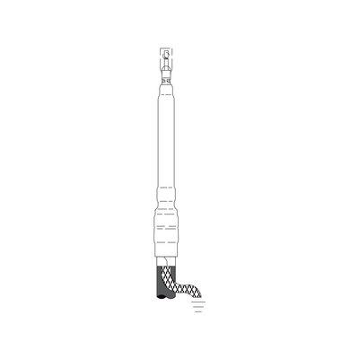 3M 7620-T-95 Cold Shrink Non-Skirted Termination Kit, 3 Terms per Kit
