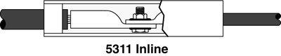 3M 5311 5311 MOTOR LEAD INLINE SPLI