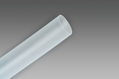 "3M FP301-1/2-48""-Clear-12 Pcs Thin Wall Shrink Tubing"