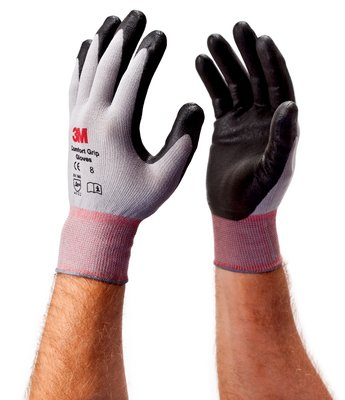 2 PAIRS PIP 44-3745M MAXICUT ULTRA LIGHTWEIGHT PALM COATED NITRILE GLOVES 8//MED