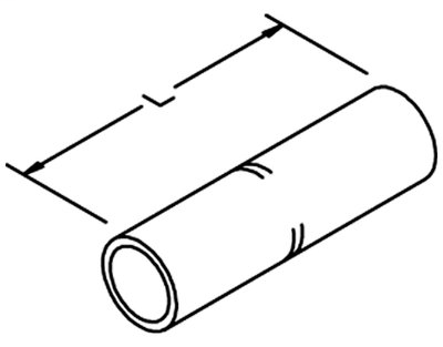 3M 10014 Copper Standard Barrel Connector
