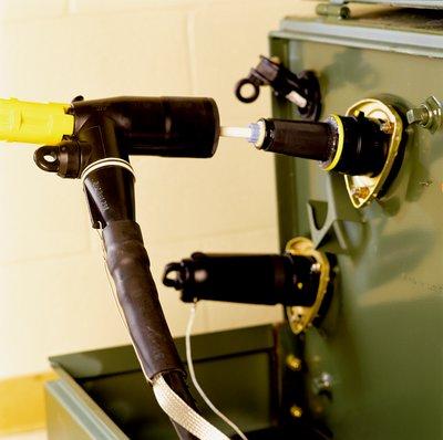 3M 5811-C-1/0 200 Amp Industrial Loadbreak Elbow