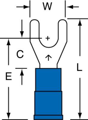 3M MNG14-8FX 100/Bottle Nylon Insulated Ring