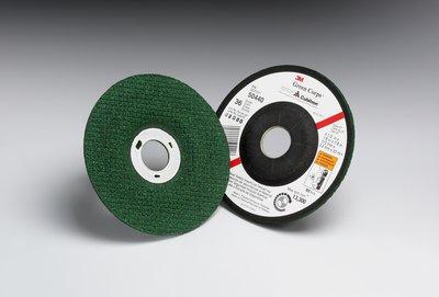 3M 50440 Green Corps Flexible Grinding Wheel, 4-1/2 in x 1/8 in x 7/8 in 36, 20 per inner 40 per case